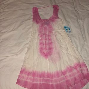 Dresses & Skirts - Pink Beach Coverup